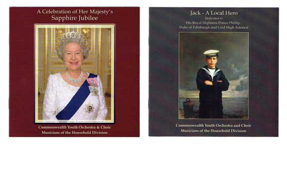 A Celebration of the Sapphire Jubilee of Her Majesty The Queen & Jack A Local Hero Dedicated to His Royal Highness The Duke of Edinburgh